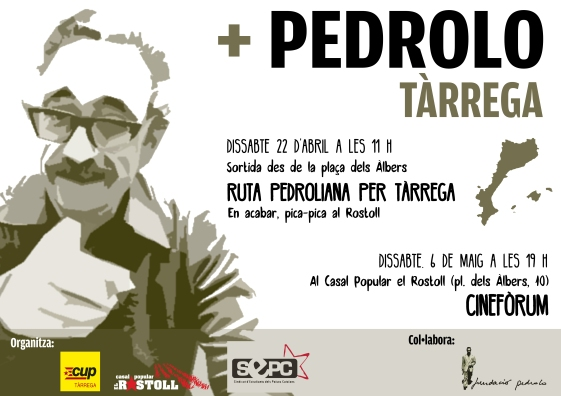 Cartell Mes Pedrolo 2017